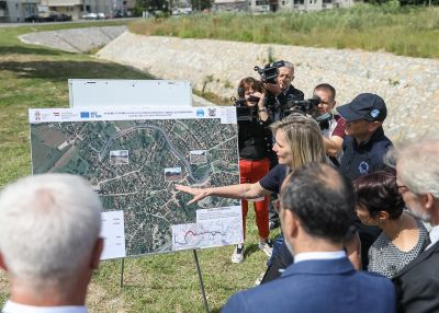 Successful finalization of the project Reconstruction of Flood Protection Infrastructure