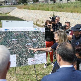 Uspešan završetak projekta Rekonstrukcije infrastrukture za zaštitu od poplava